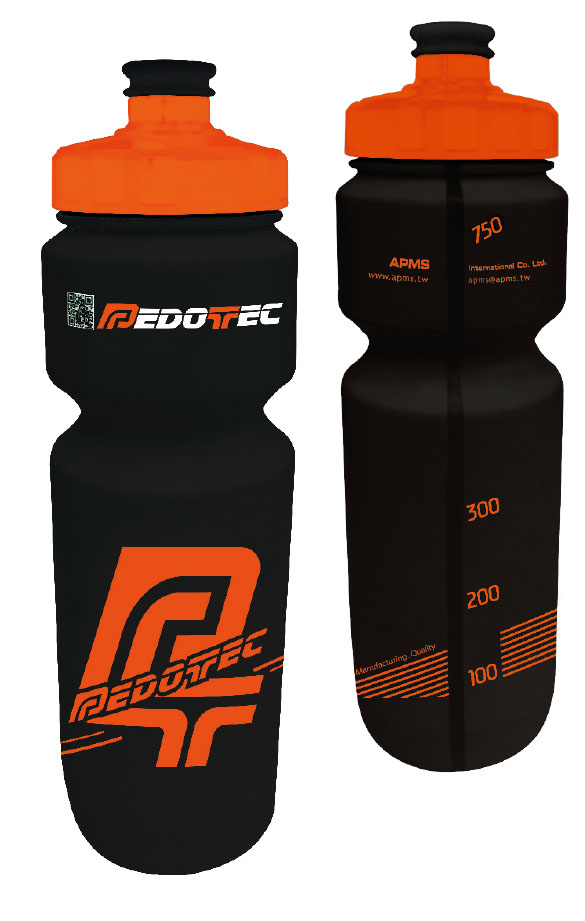 Bike Water Bottle PT 512LW BK