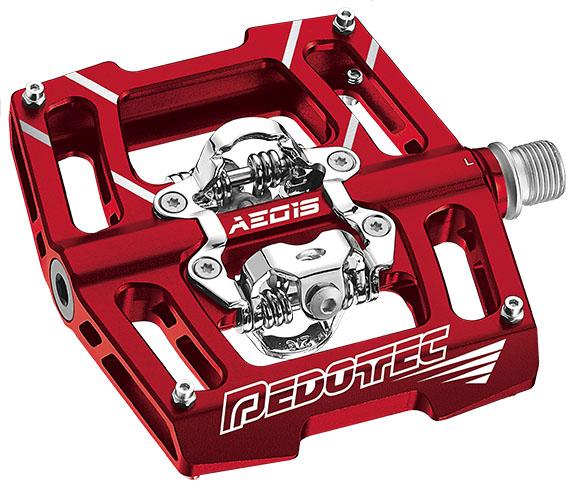 Pedals Mtb PT Aegis279 Red